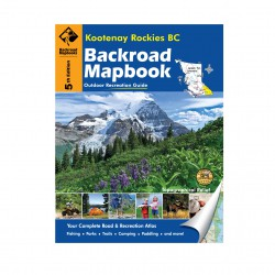 BACKROAD-Kootenay Rockies BC 5th Edition
