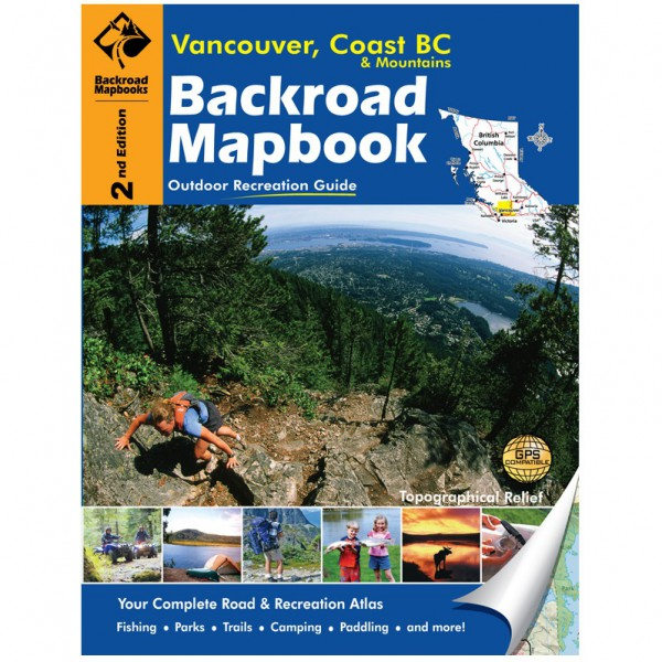 BACKROAD-Vancouver Coast&Mountains 2nd Edition