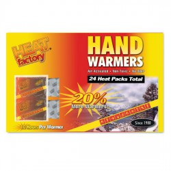 HEAT FACTORY-Hand Warmers 24 Pack