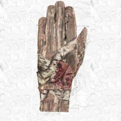 SEIRUS-8071 HWS Soundtouch Dynamax Glove Liner Camo Breakup Infinity L