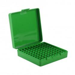 MTM FLIP-TOP PISTOL 9MM BOX 100RD GREEN