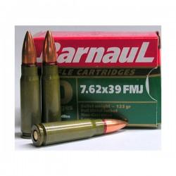 BARNAUL 7.62x39 FMJ 20RD 123GR