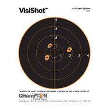 CHAMPION VISISHOT 100YARD 10-8  10PACK
