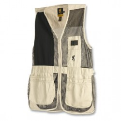 Browning-Trapper-Creek-Mesh-Shooting-Vests-SandBlack-Left-Hand-MID-30503628