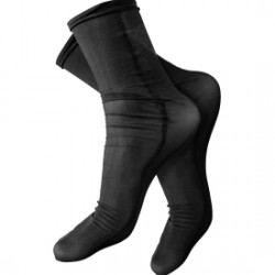RYNOSKIN BLK SOCKS ONE SIZE