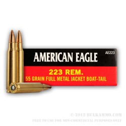 American Eagle .223 55Gr