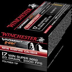 Win 17 super Mag Varmint Hv 20Gr S17W20