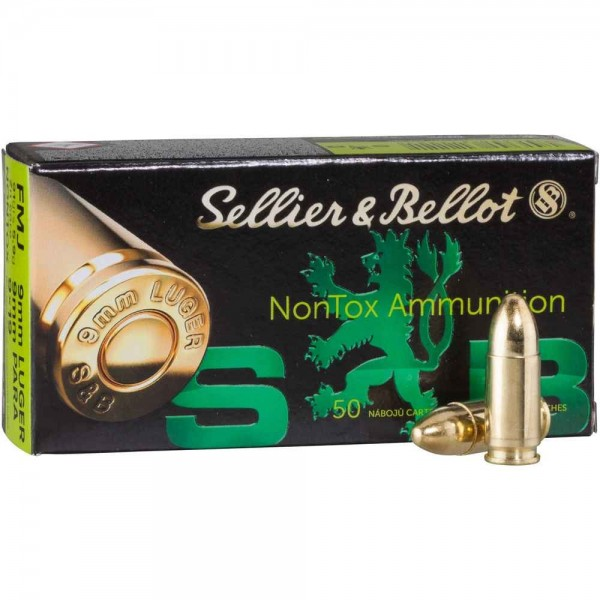 sellier & bellot 9mm 124 GR nontox