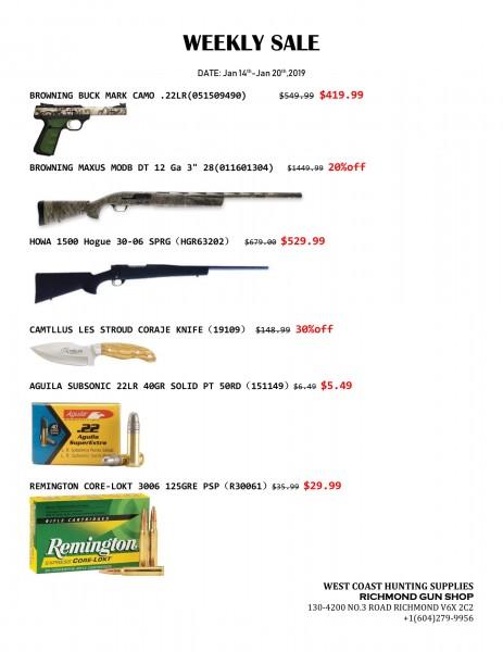 weekly sale20190114-1