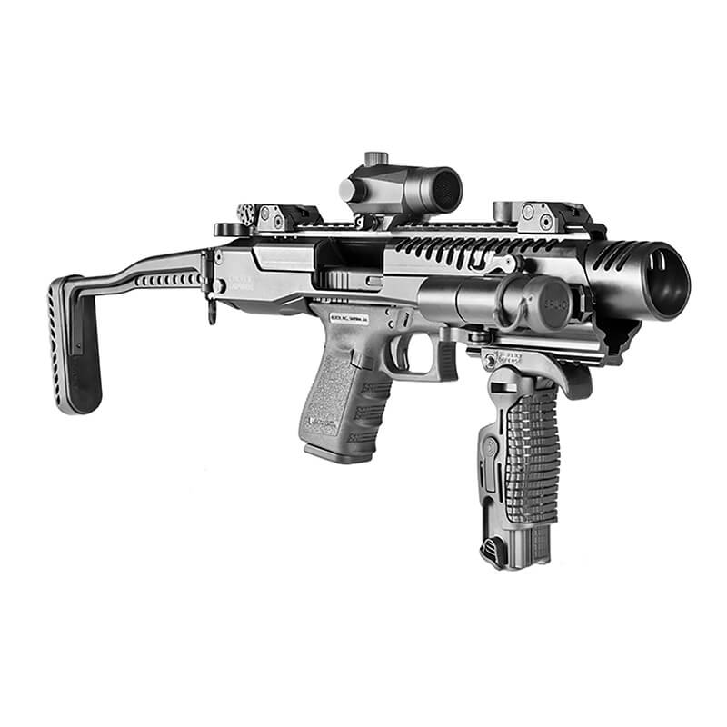 FAB DEFENSE KPOS G2 Glock 17/19, 2nd' gen PDW Conversion kit for glock 9mm  models
